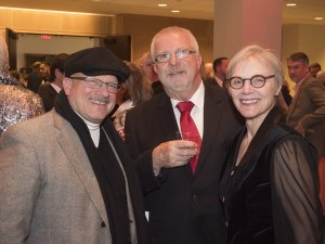 Keith James, Karl Grummich, Donna Sontag Grummich