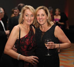 Auction chair Marci Campbell and Lynne Meiners