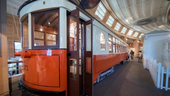 Museum Center's Streetcar No. 2435