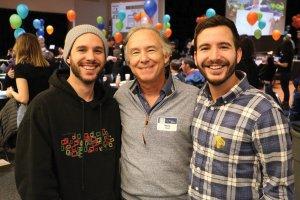 Matt Hiudt, Marty Hiudt and Jacob Hiudt