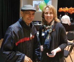 Meir Ovadia and Barbara Farmer of PNC