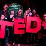 Tedx volunteers during 2018 auditions: Michelle Constanzo, Chris Lah, Kelsey Grassman, Jami Edelheit, Janet Hill, Byron Hutchins, Jeffrey Miller