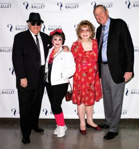 Carmen DeLeone, Kathy DeLeone, Barbara Kellar and Larry Kellar