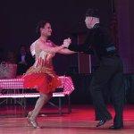 Celeb Dr. Marcia Bowling and pro Jozsef Parragh