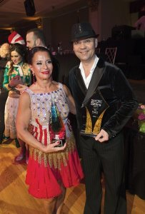 1st Place in Dance and Fundraising Champion – Celeb Dr. Marcia Bowling and pro Jozsef Parragh