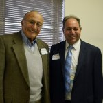 Dr. Richard Kerstine, co-founder, CEI Foundation and Sam Lobar, Atrium Medical Center Foundation