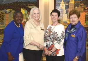 Committee members Rosanna Nelson (chair), Phyllis Dix, Cyndie Willson and Audrey Stehle