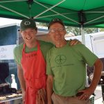 Grassroots Farm & Foods produces grass-fed beef, lamb, pork, chicken, eggs and prepared foods in Hillsboro, Ohio. Drausin and Susan Wulsin took on the operation of the family farm after successful professional careers. Try a delicious slider from the grill.