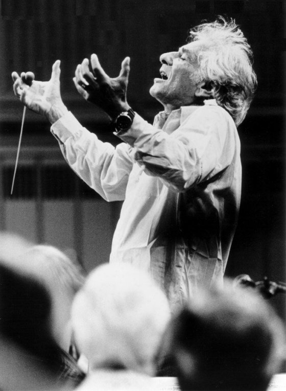 Leonard Bernstein (Photo: Paul de Hueck)