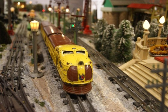 The Duke Energy Holiday Train display at Cincinnati Museum Center runs through Jan. 27.