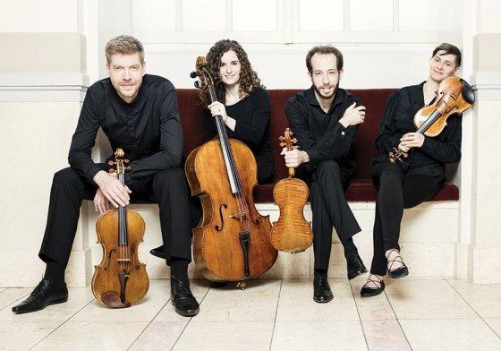 The Ariel Quartet is CCM's quartet-in-residence.