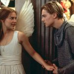 Claire Danes as Juliette and Leonardo di Caprio as Romeo