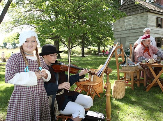 "Great Parks of Hamilton County presents ""Weekend in 1800s"""