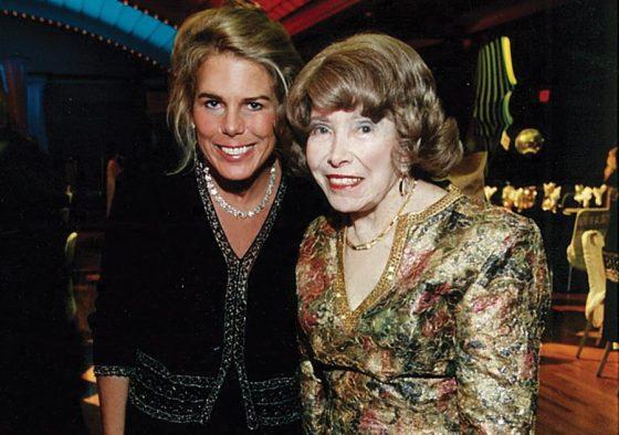 Patty Beggs with Patricia Corbett