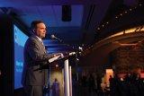 Cincinnati Mayor John Cranley speaks at the Impact 100 awards celebration.