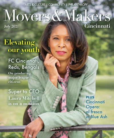 Movers & Makers July 2021 cover