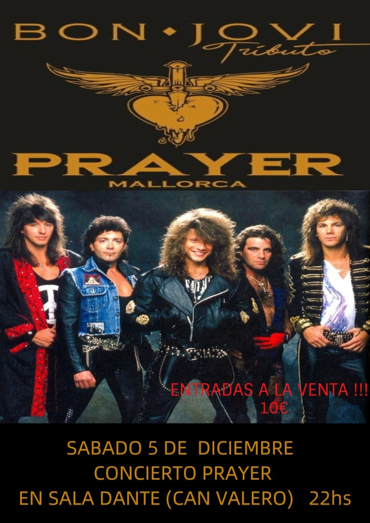 """Prayer"", tributo a Bon Jovi."