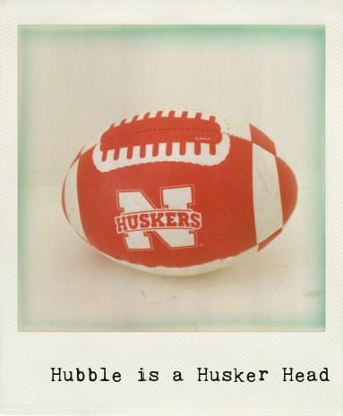 Hubble Is A Husker Head
