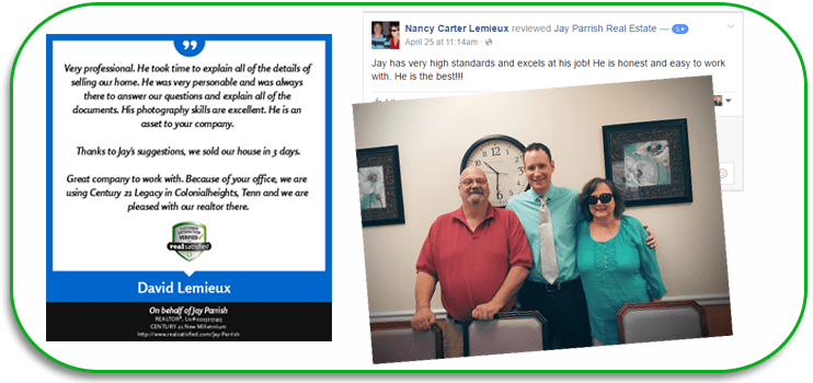 testimonail, review, jay parrish, realtor, real estate