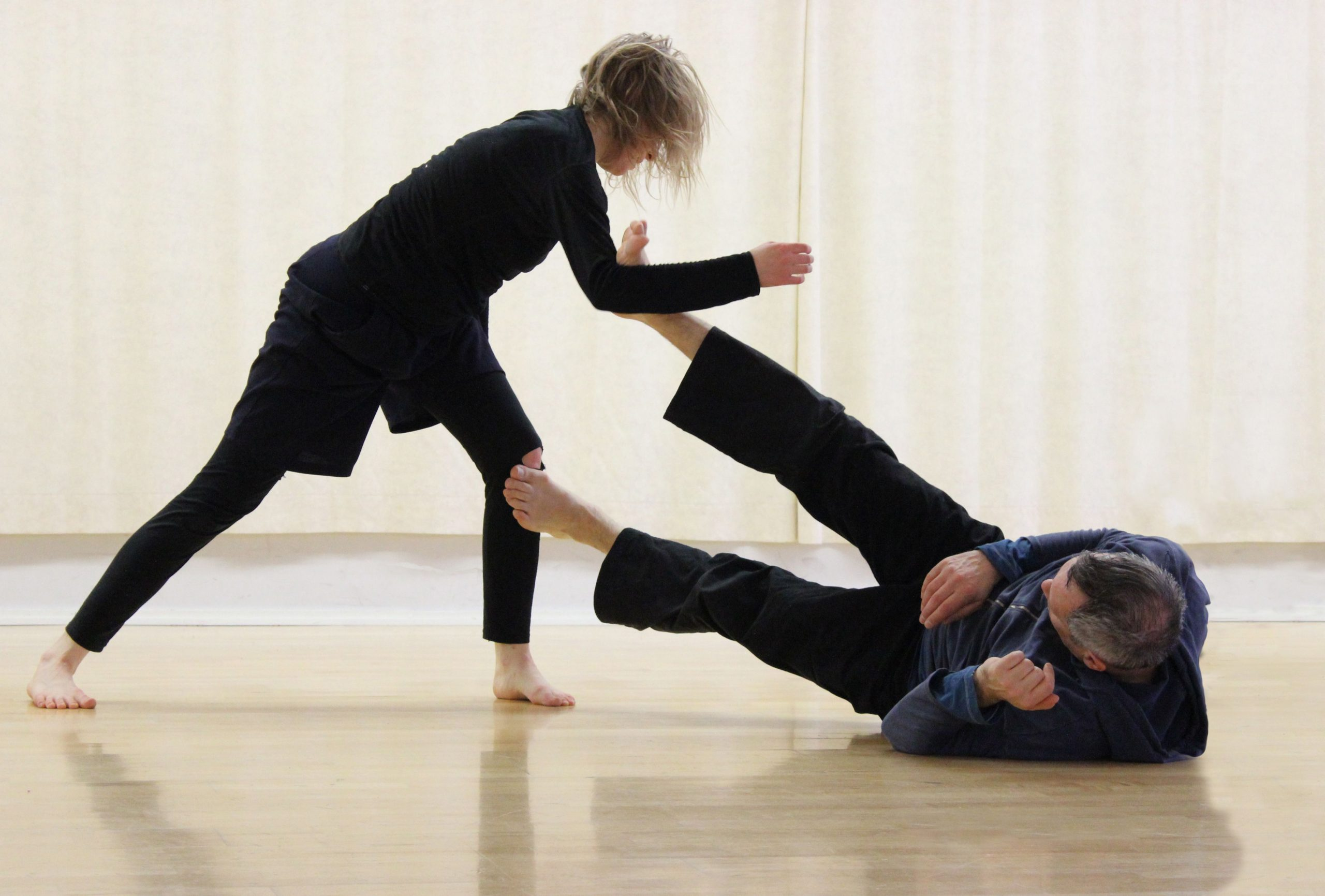 dancing contact improvisation