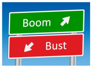 """""""Boom"""" & """"Bust"""" signposts"""