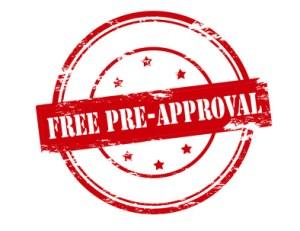 Free pre approval