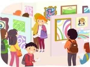 Stickman Teens Art Exhibit