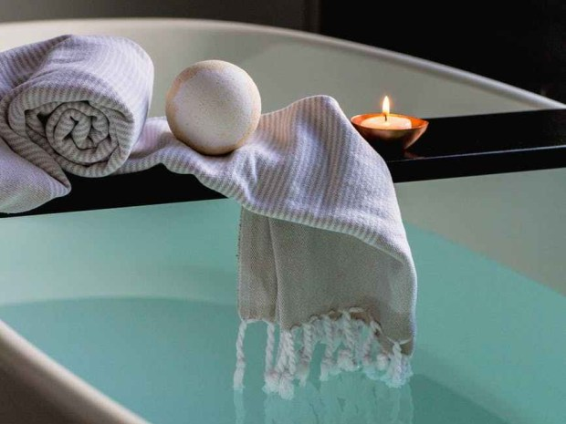 Dive into a bath of bliss to unwind for bed!