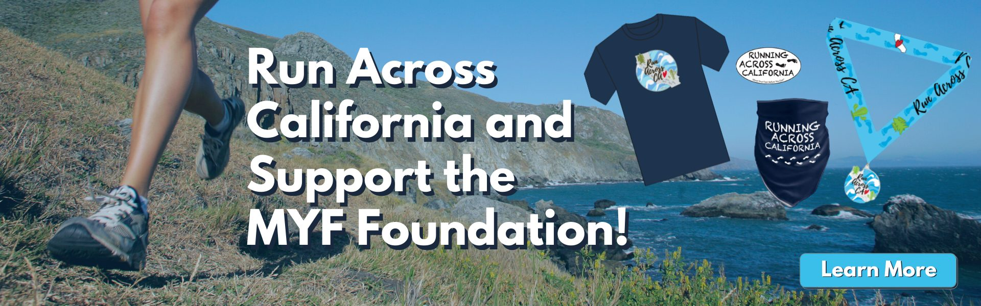Run Across California and support the MYF Foundation