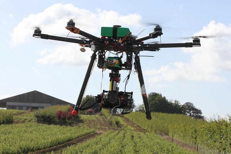 professionele drone video opnames