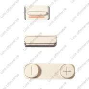 apple-iphone-5s-champagne-button-set-original-new-3pcs-set