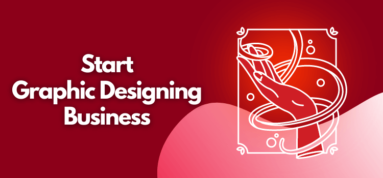 start graphic design business