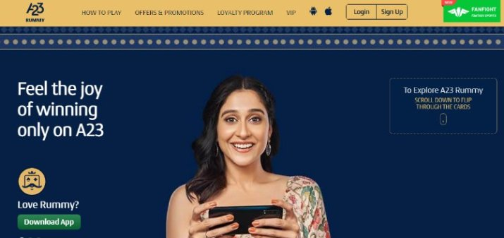 earn money by playing a23 in india
