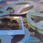8mmフィルムから映し出される演出が心温まるテンプレート