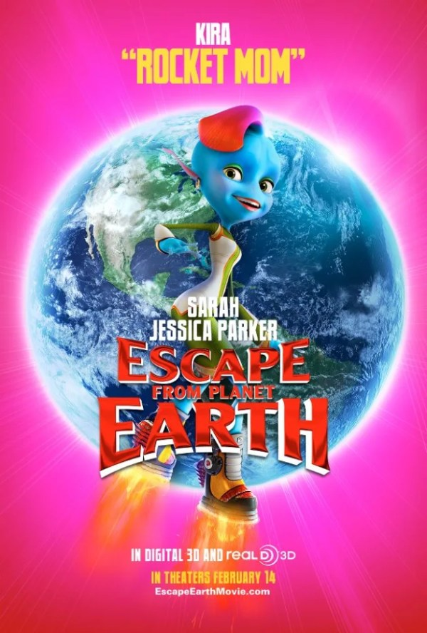 Escape From Planet Earth Gets New Batch of Character