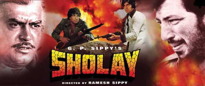 Sholay - Top Bollywood Hindi Movies of All Time