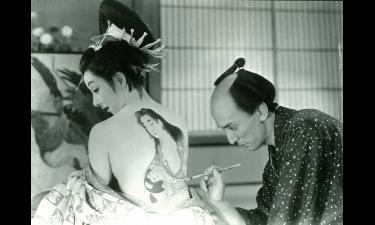 溝口健二監督「歌麿をめぐる五人の女」の一場面