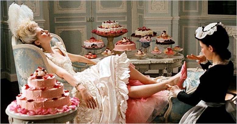 Kirsten Dunst as Marie Antoinette in Marie Antoinette