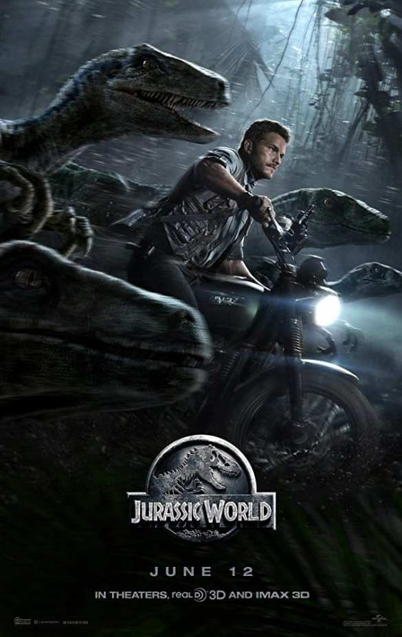 Jurassic World - Road Trip Movie List