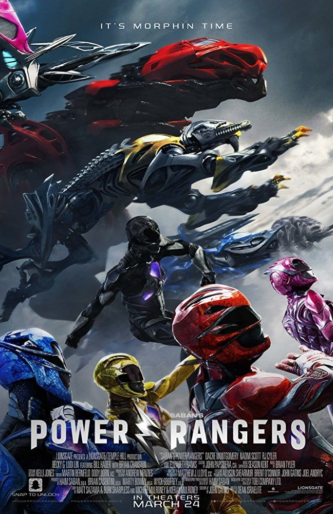Power Rangers - Movie List