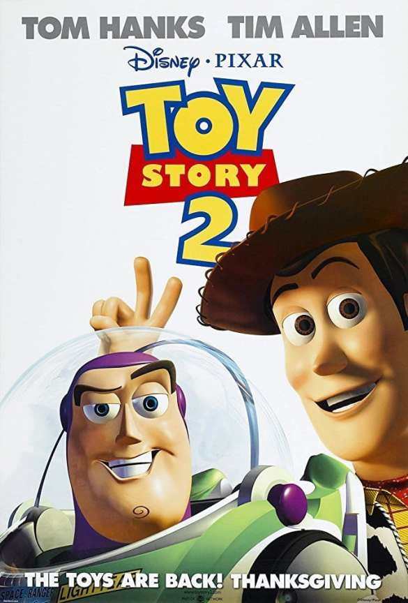 Toy Story 2 - Road Trip Movie List