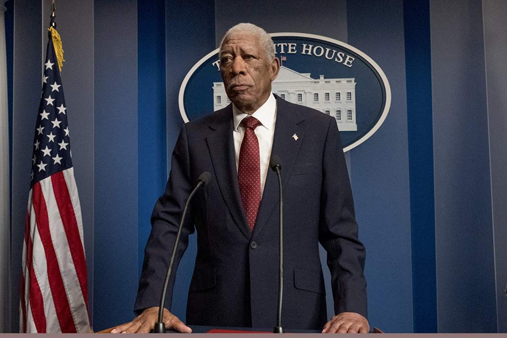 Morgan Freeman in Angel Has Fallen