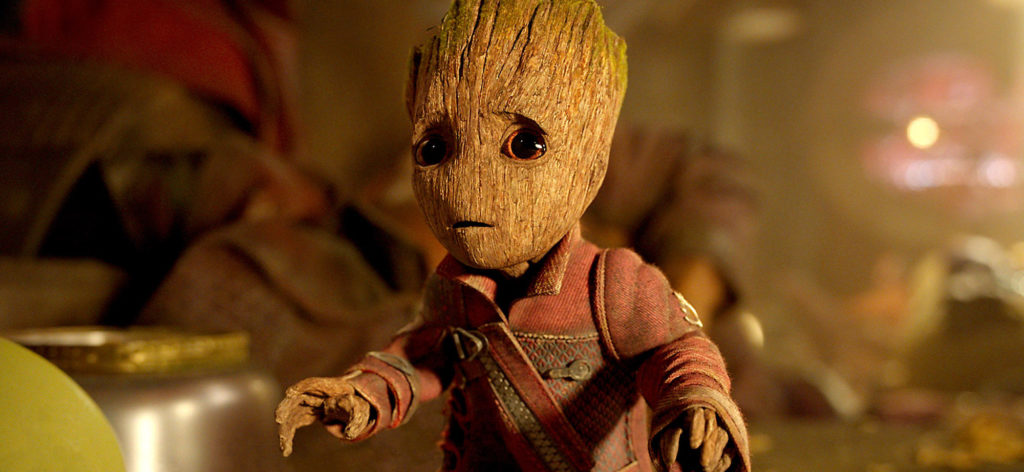 Baby Groot will become a teenage Groot in Avengers: Infinity War.