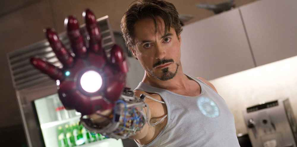 The first Iron Man movie launched the MCU when it was released in 2008.