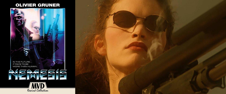 Albert Pyun's Nemesis comes to Blu-ray this week from MVD.