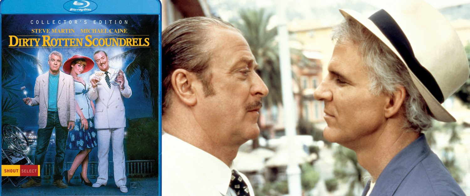 Dirty Rotten Scoundrels gets a new special edition blu-ray from Shout! Factory.
