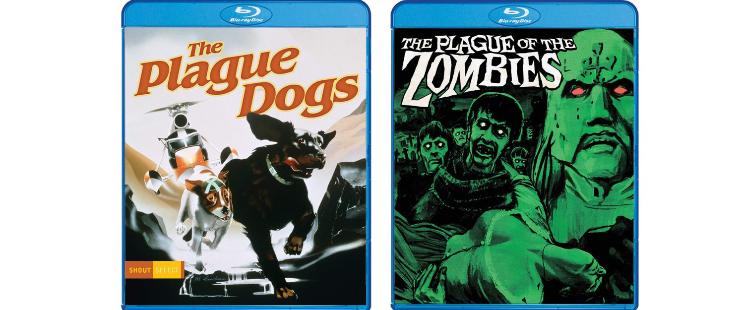 The Plague Dogs and The Plague of the Zombies both come to Blu-ray this week from Shout Factory!