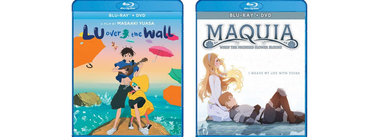 Lu over the Wall and Maquia are coming to Blu-ray this week.