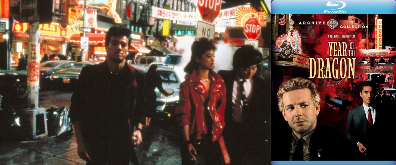Michael Cimino's Year of the Dragon comes home on Blu-ray from Warner Archive.