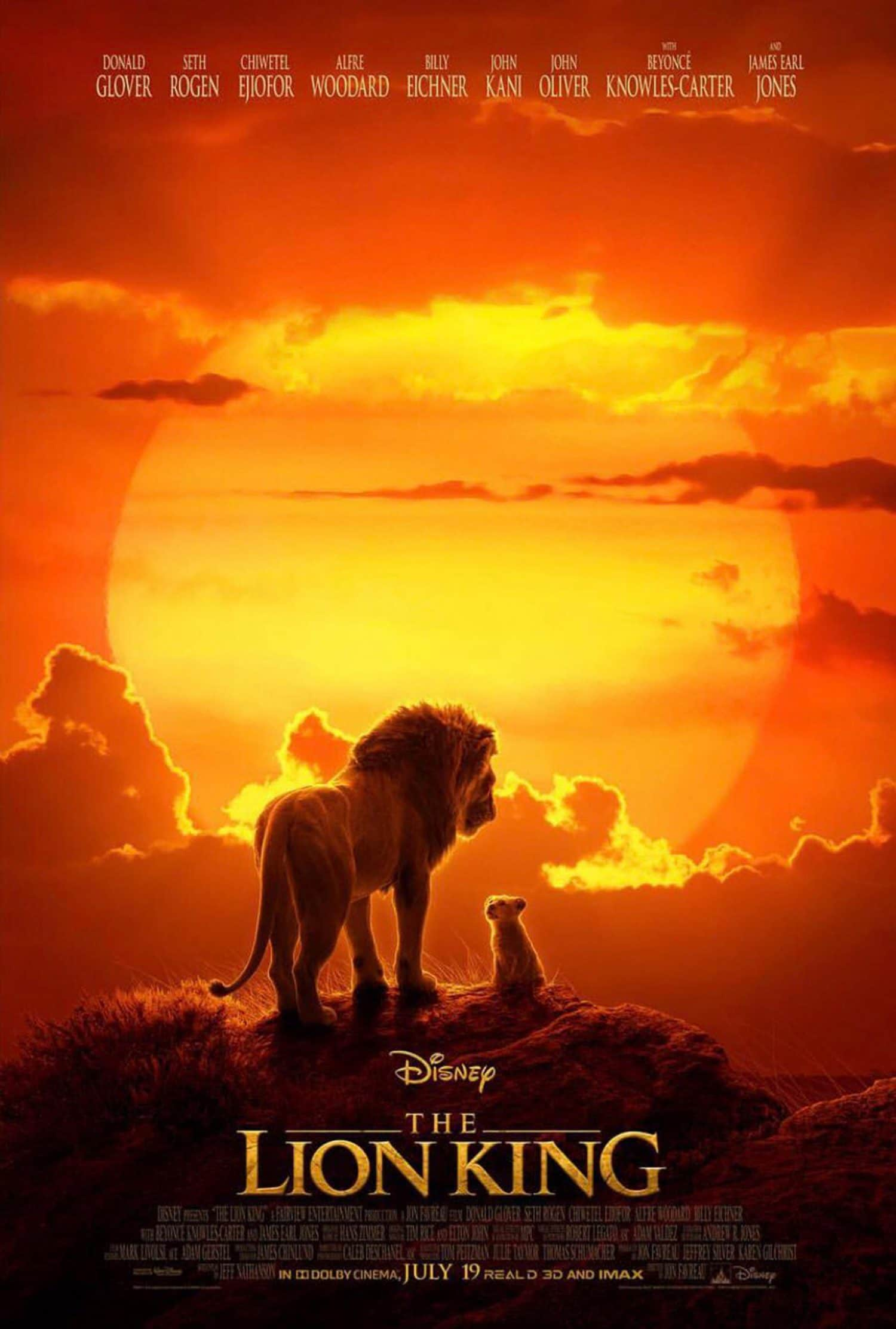 The Lion King live action movie is on the way from Disney in 2019.